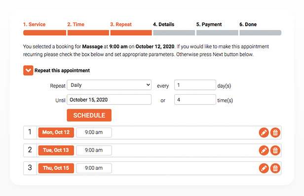 - 32 - Bookly – Appointment Booking and Scheduling Software System