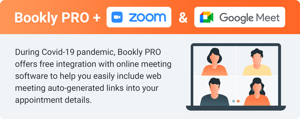 Bookly PRO – Appointment Booking and Scheduling Software System - 1